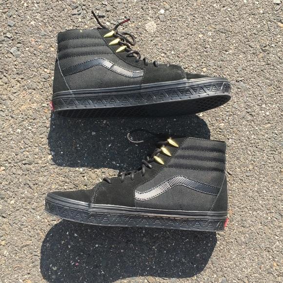 buying new exclusive range various styles Vans Marvel Black Panther sk8-HI shoes size10 EUC